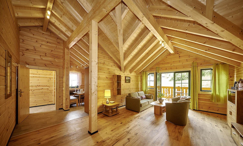 Ferienwohnung og landhaus meier in lechbruck - Wohnzimmer dachgeschoss ...